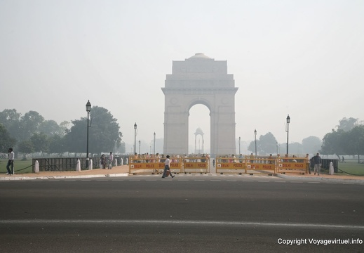 Delhi Porte de l'Inde India Gate 100
